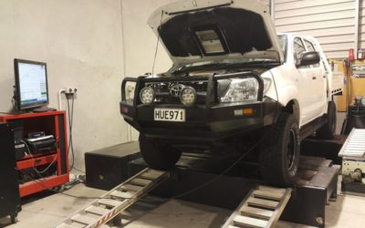 Toyota Hilux Tuning On The Dyno